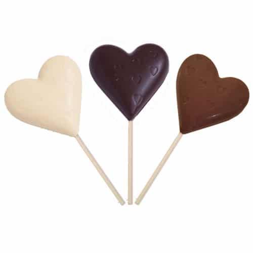 Triple Heart Chocolate Pop Pack