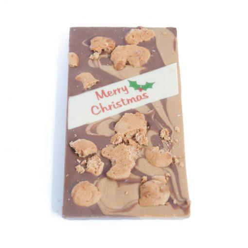 Gingerbread Swirl Chocolate Block