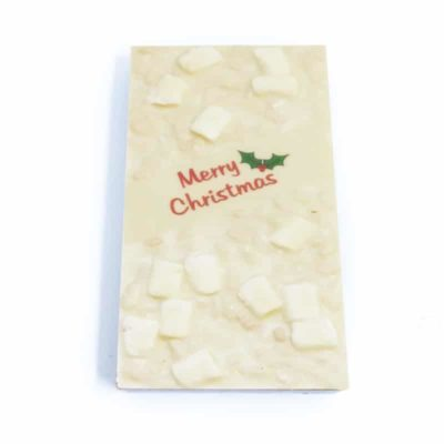 White Christmas Chocolate Block
