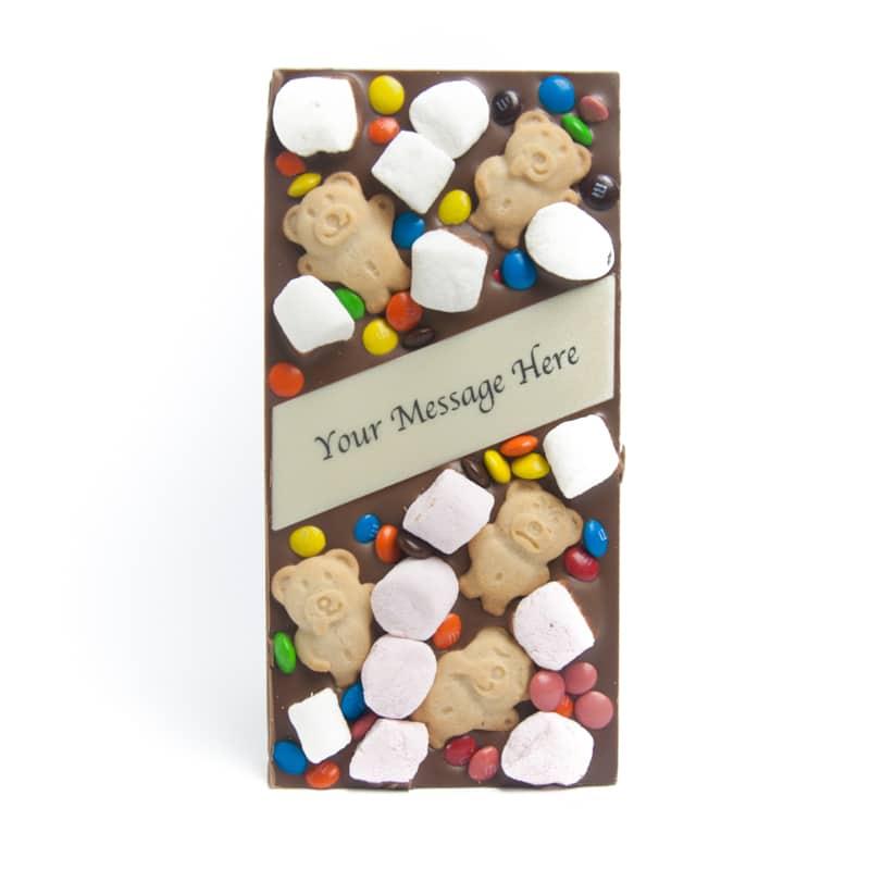 Teddy Bear Picnic Message Bar