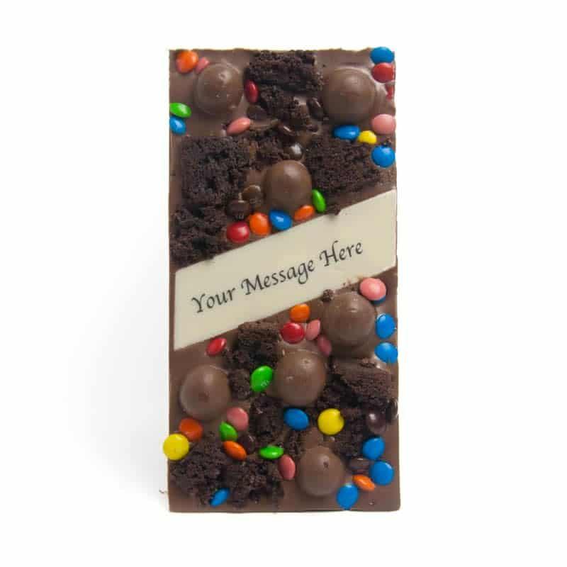 Cake and Maltesers Edible Printed Message Bar