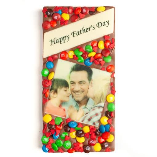 Dad's Happy Photo Message Bar 1