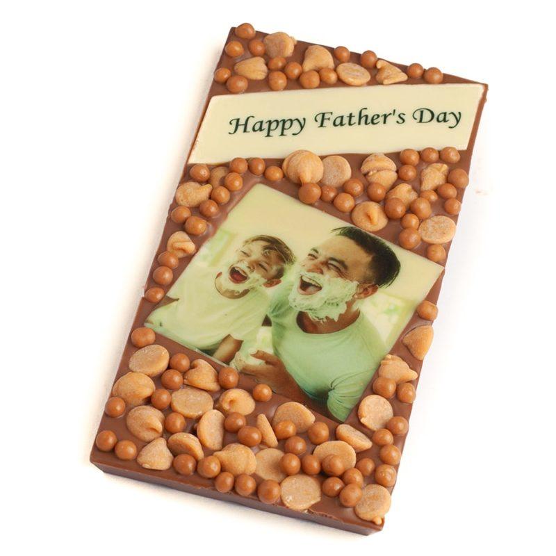 Dad's PB Caramel Photo Message Bar 2