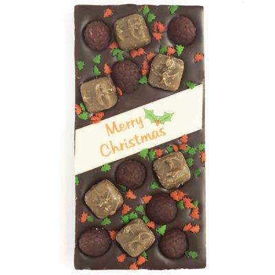 Dark Chocolate Mars Bar Raspberry Lollies