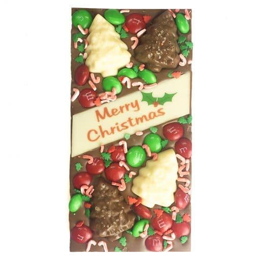 Milk Chocolate Christmas Tree Block