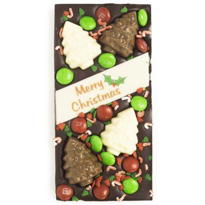 Dark chocolate Christmas Trees