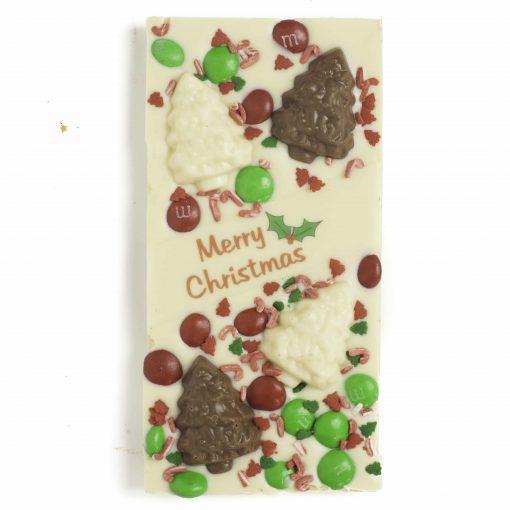 White Chocolate Christmas Trees 1