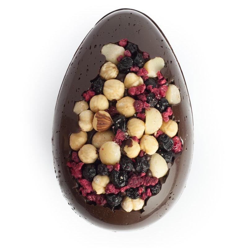 Dark Choc Fruit and Nut Large Egg