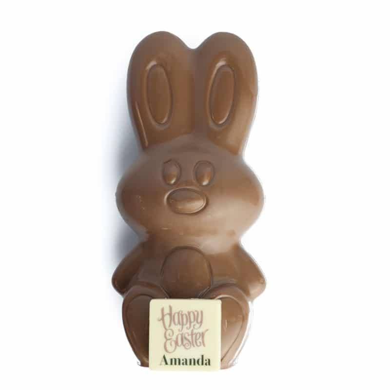 Personalised Milk Chocolate Easter Bunny