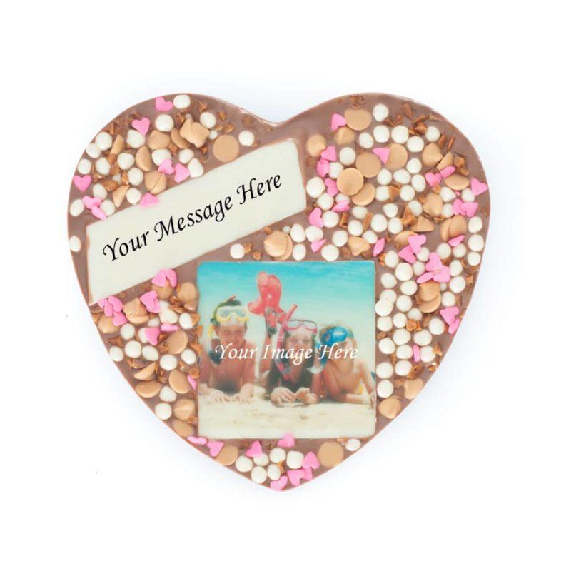 Butterscotch Message Photo Heart 1