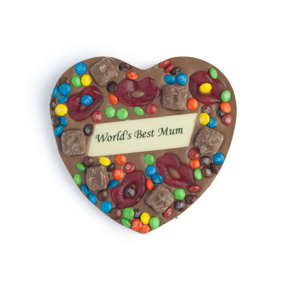 World's Best Mum Heart