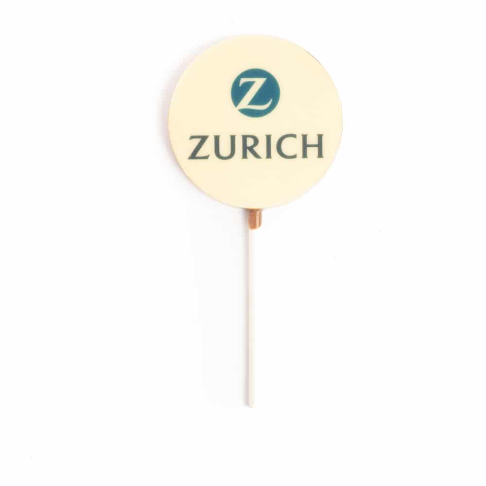 Corporate gift lollipop Example