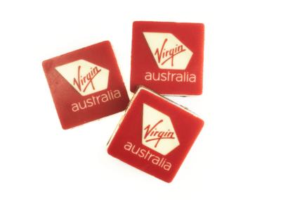 Edible Printed Chocolate Logo Squares