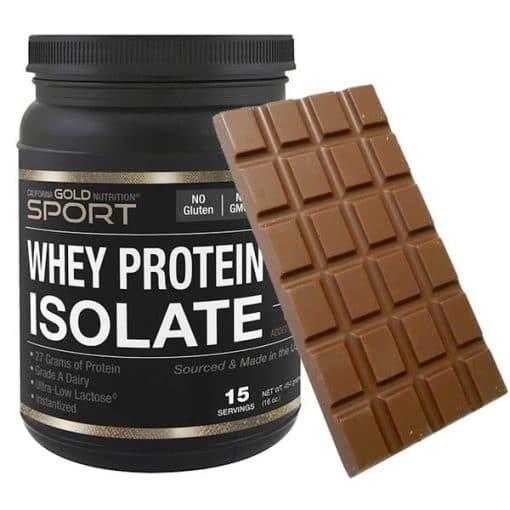Protein Milk Chocolate Block 1