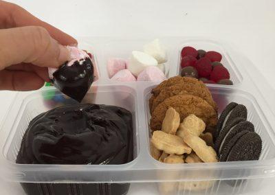 Chocolate Cookie Bento Box