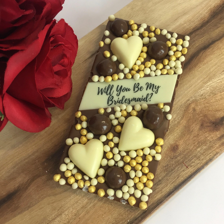 Custom Chocolate Block