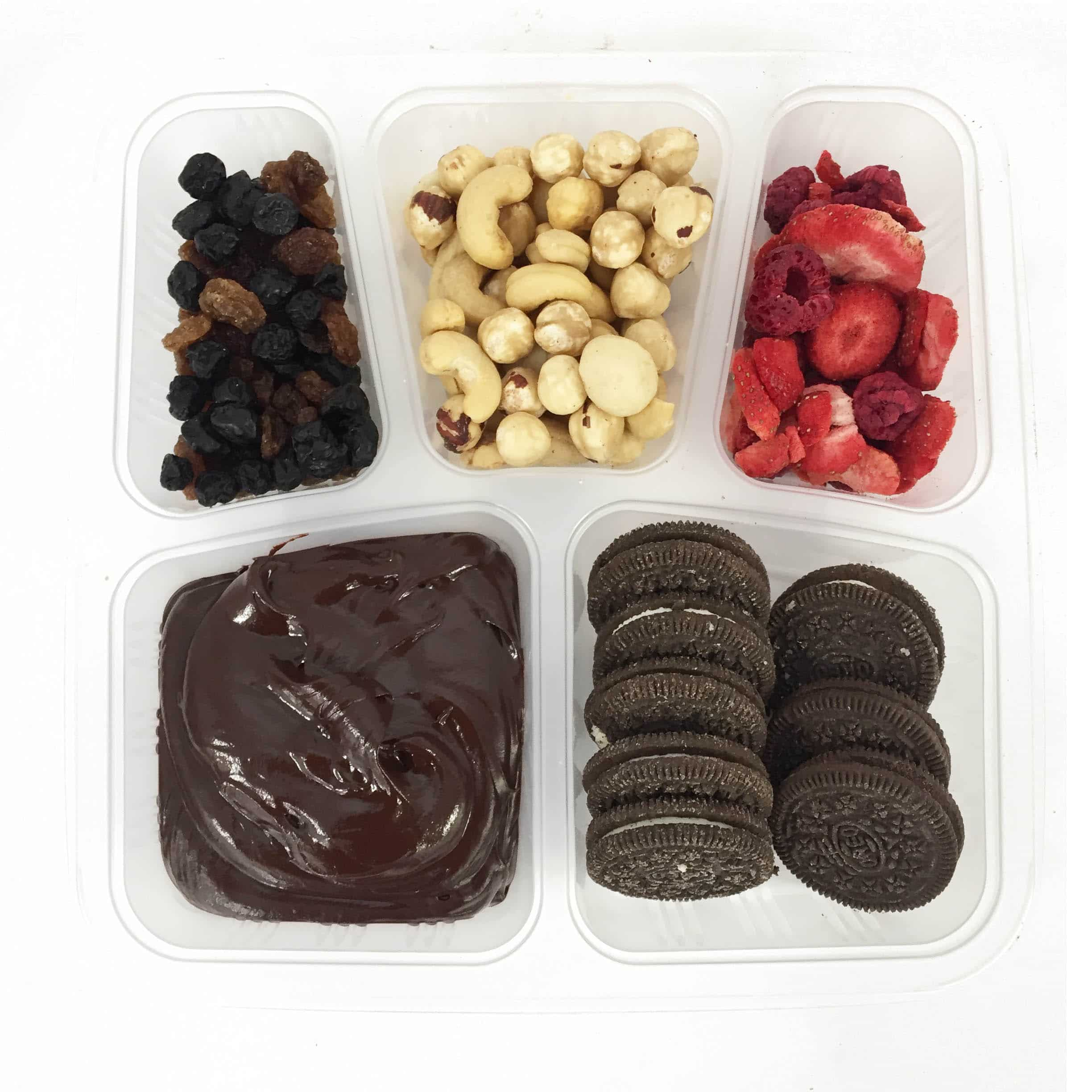 Chocolate Vegan Bento Box