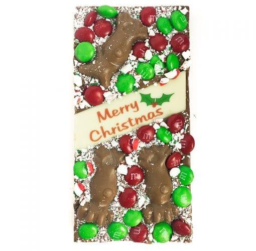 Mint Chocolate Christmas Bar