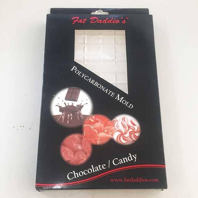 Polycarbonate Chocolate Block Mould 1