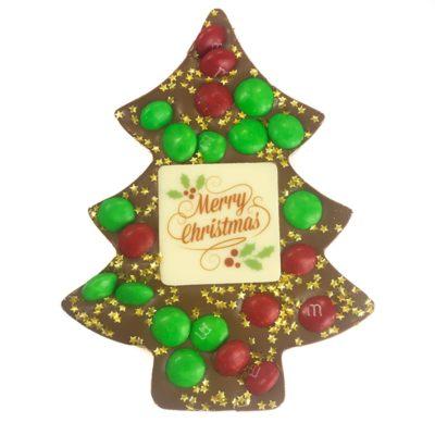Small Chocolate Christmas Tree