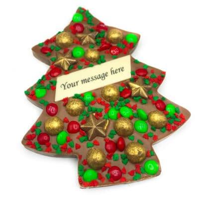 Personalised Christmas Chocolate Tree