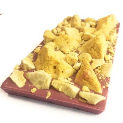 Smashed honeycomb Ruby Chocolate