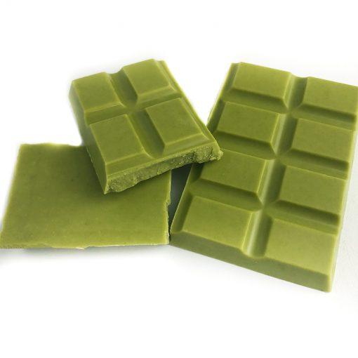 Matcha Chocolate Block 1
