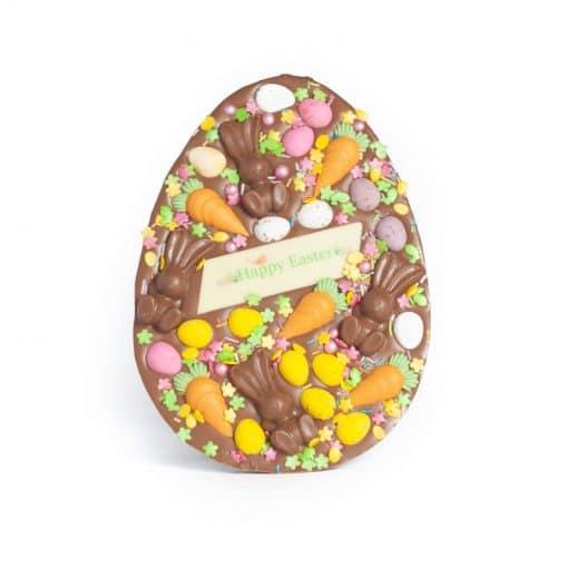 Bunnies & Carrots Easter Egg 1