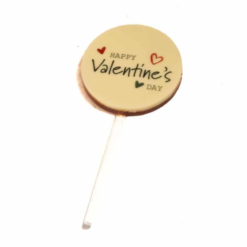 Happy Valentine's Day Chocolate Pop