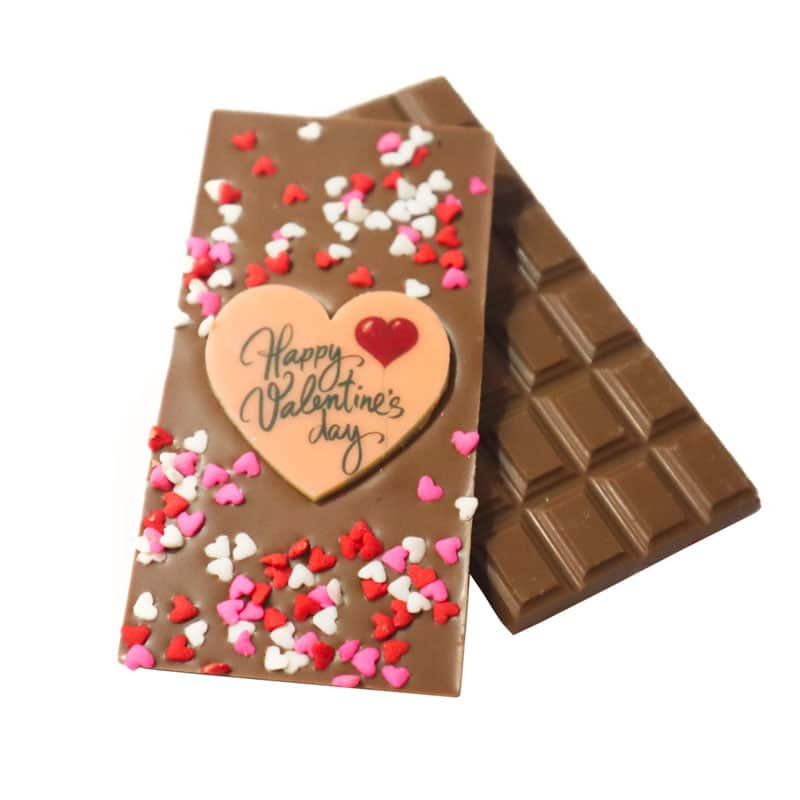 Happy Valentine's Day 35g Chocolate Bar