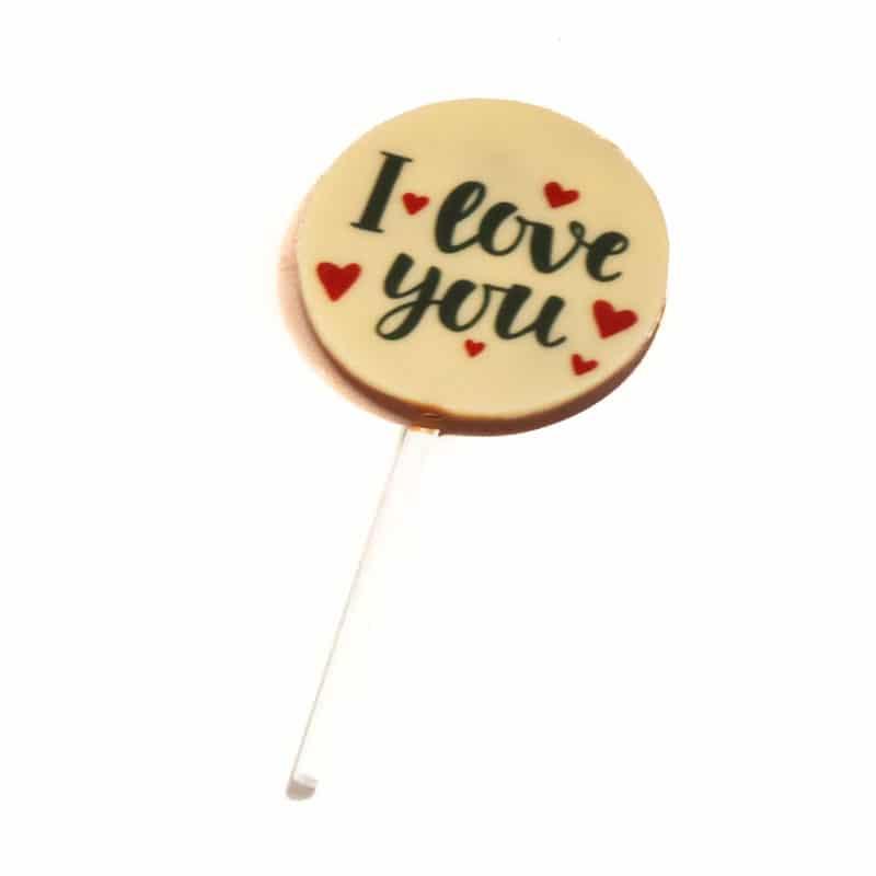 I Love You Chocolate Pop
