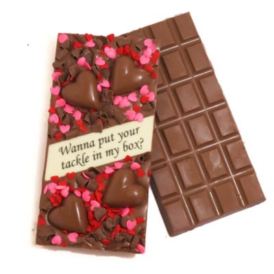 Wanna put your tackle in my box? Chocolate block