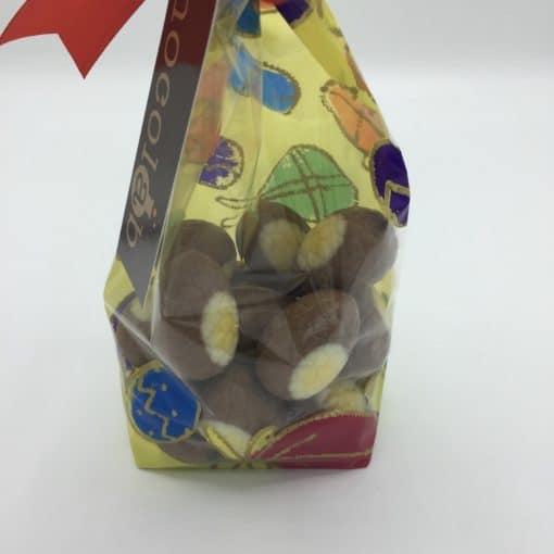 Bag of 15 Milk Chocolate Crème brûlée Filled Mini Eggs