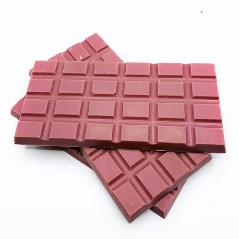 Ruby Chocolate block