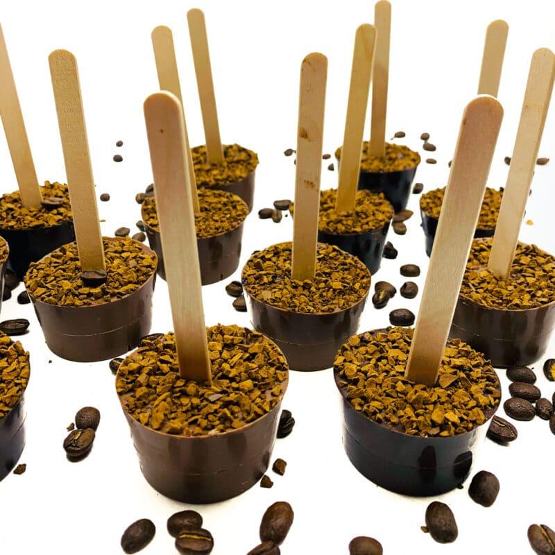 coffee hot chocolate stick