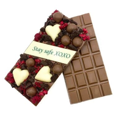 Stay Safe Covid Gift Chocolate