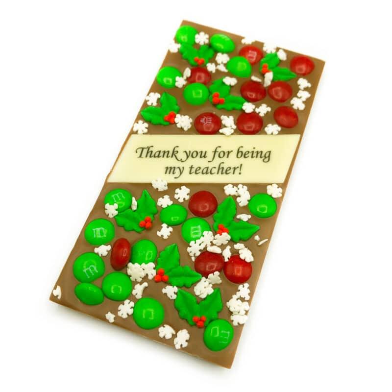 Thank you teacher chocolate